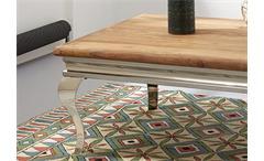 Couchtisch 2 Bombay Beistelltisch Tisch Massivholz Sheesham natur von Wolf Möbel