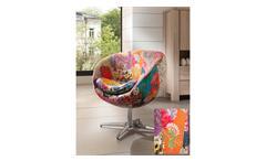 Drehsessel Pep Egg Chair Stuhl mix colour Edelstahl Wolf Möbel