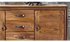 Kommode Shan 6300 Shina aus Sheesham Massivholz Sideboard von Wolf Möbel