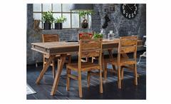 Esstisch Shan 6323 Shina in Sheeshamholz massiv von Wolf Möbel Tisch