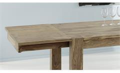Esstisch ausziehbar Esszimmertisch Yoga Tisch Sheesham natur 160-260 Wolf Möbel