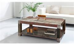 Couchtisch Goa Red 3512-HI Beistelltisch Massivholz von Wolf Möbel 120x80 cm
