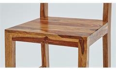 2er Set Stuhl Shan 6332 aus Sheeshamholz massiv von Wolf Möbel Esszimmer
