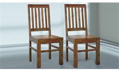 Stuhl Vision 2831  aus Massivholz Akazie von Wolf Möbel 2er Set