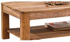 Couchtisch Boston 7620 Beistelltisch Wohnzimmer Tisch Sheesham massiv Wolf Möbel