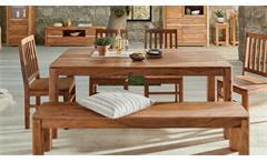 Esstisch Boston 7631 Tisch Esszimmertisch Küchentisch Sheesham massiv Wolf Möbel