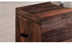 Truhe Guru 6606-2 Kiste Aufbewahrung in Akazie massiv forest von Wolf Möbel