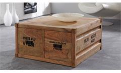 Couchtisch CONTAINER Sheesham massiv natur Wolf Möbel