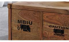 Couchtisch Holztisch Wohnzimmertisch Container Sheesham massiv natur Wolf Möbel