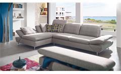 Ecksofa Taoo Wohnlandschaft Sofa Polstermöbel in Steel grau von W. Schillig