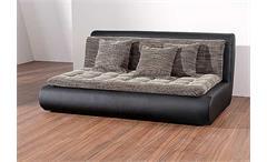 Sofa VI CLUB in schwarz Element rechts inklusive Kissen