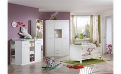 Kinderzimmerset NIGHT 3 teiliges Set in Weiß und Strass