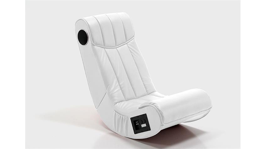 Gaming Chair SOUNDZ Multimediasessel Playstation XBOX weiß