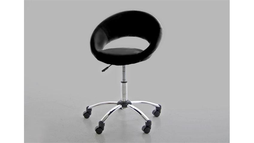 Bürostuhl PLUMP Stuhl Bürostuhl in schwarz TÜV geprüft