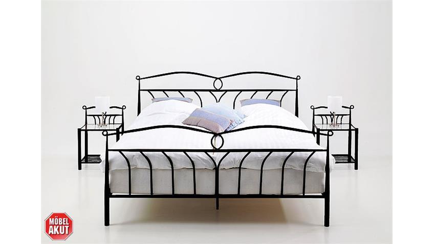 Bett LEFT schwarz 140x200 cm