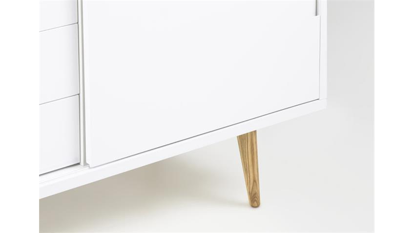 Anrichte ELISE Kommode Sideboard weiß hochglanz lackiert