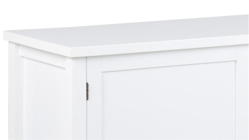 Anrichte ETON weiß lackiert Landhaus Sideboard 2-trg