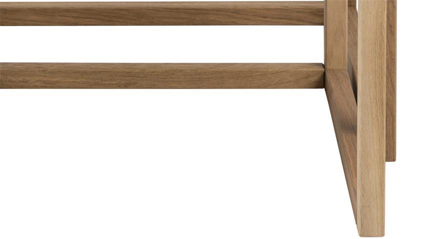 Couchtisch Set 2-tlg CORNUS Eiche furniert 50x50 cm