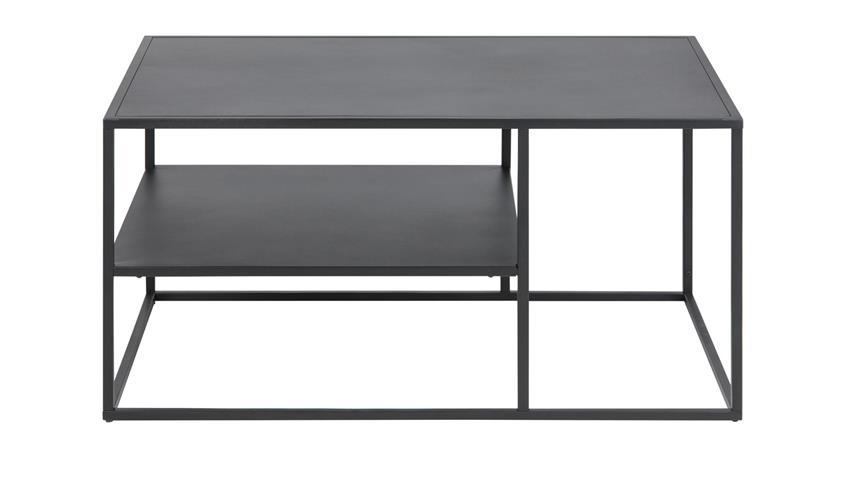 Couchtisch NEWTON Metall schwarz Puristisches Design