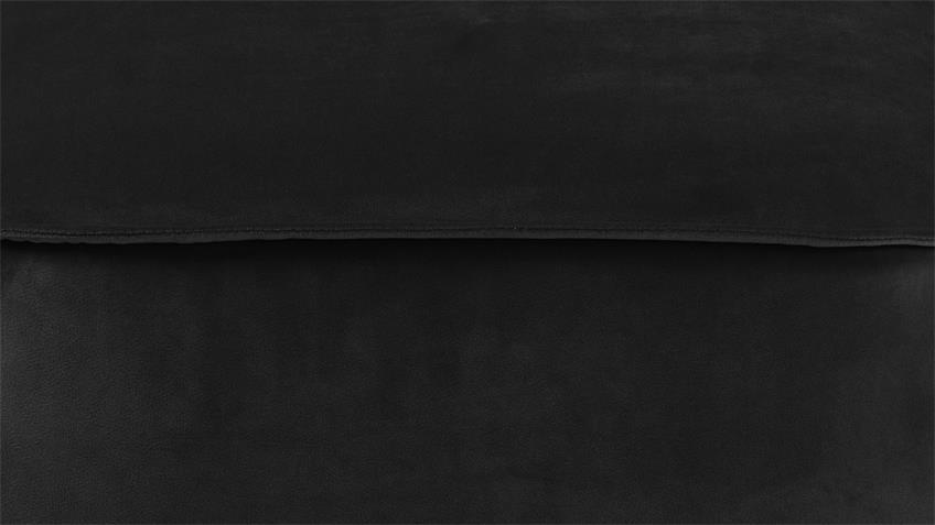 Sitzhocker Pouf Mie Sitzkissen mit Samt grau-braun 60x34 cm