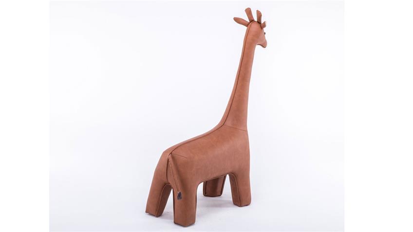Tierhocker Giraffe braun hell natur Kinderhocker
