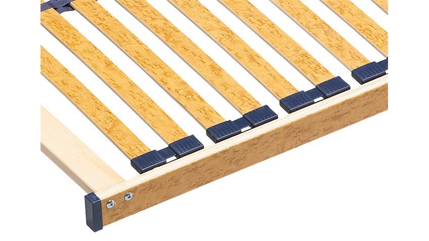 Lattenrost 90x200 BRILLANT NV 28 Federleisten Duo Kappen