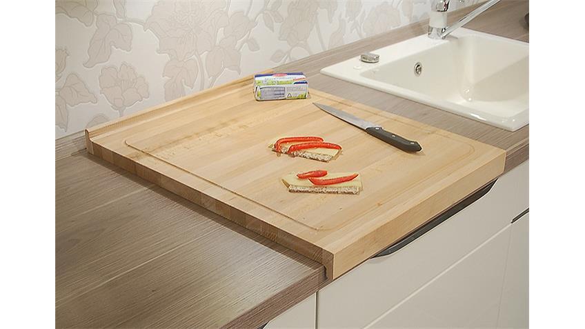 Schneidebrett COOK Küchenbrett Buche massiv 48x58 cm
