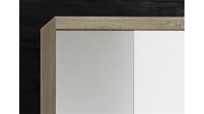 Garderobenschrank IMPERIAL 1 Eiche Sonoma weiß 80x196 cm