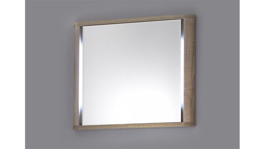 Spiegel VITAL Sonoma Eiche sägerau inklusive Beleuchtung