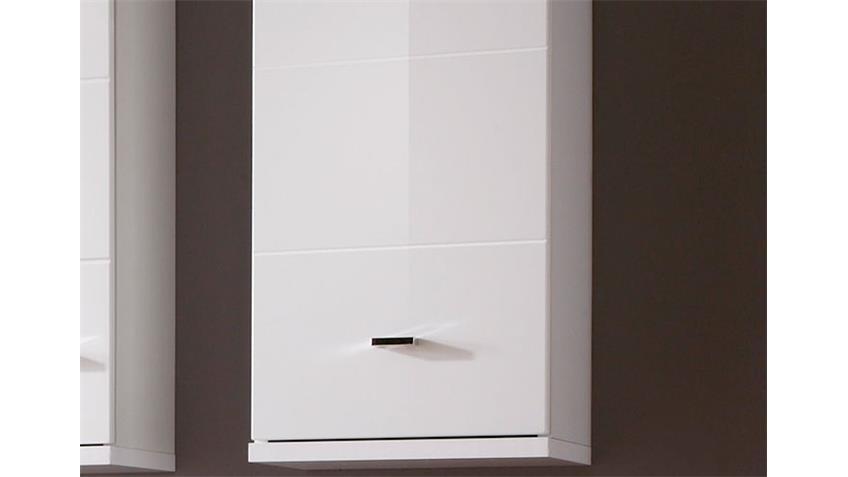 Hängeschrank MORNING Badezimmerschrank in weiß Hochglanz