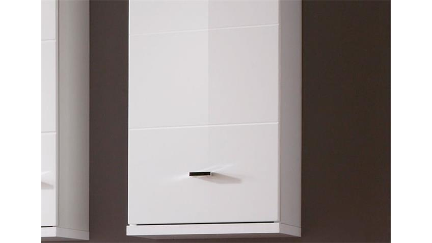 h ngeschrank morning badezimmerschrank in wei hochglanz. Black Bedroom Furniture Sets. Home Design Ideas