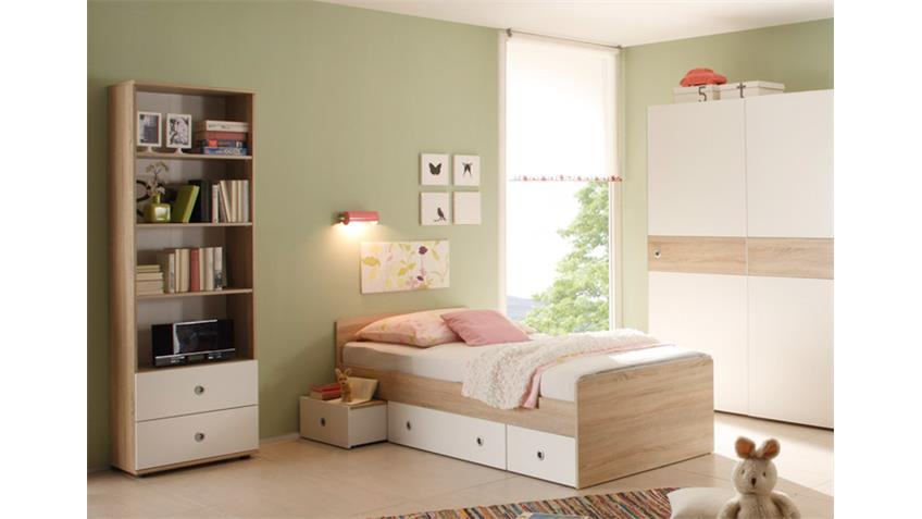 jugendzimmer wiki 7 teilig sonoma eiche s gerau. Black Bedroom Furniture Sets. Home Design Ideas