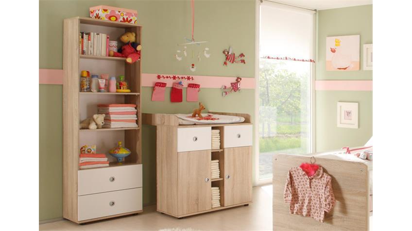 Babyzimmer WIKI 4-tlg Sonoma Eiche Sägerau