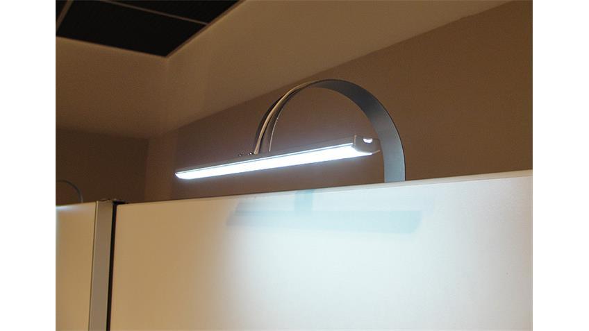 Schwebetürenschrank ROYAL II weiß schwarz mit Spiegel 170