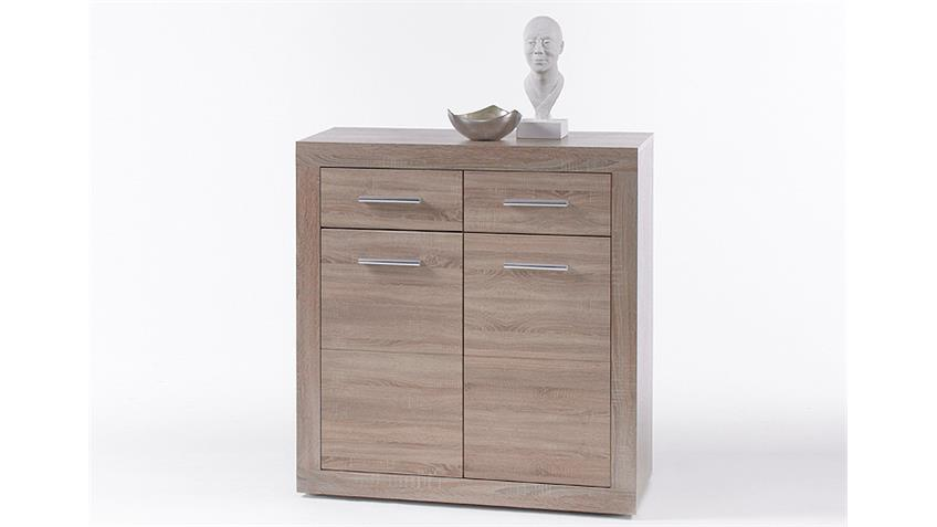 Kommode CANCAN 1 Sideboard Highboard in Sonoma Eiche
