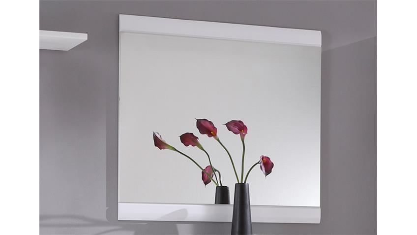 Spiegel DERBY in weiß Dekor Wandspiegel Hängespiegel