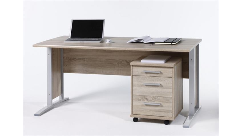 Schreibtisch Büro OFFICE LINE BIZ in Sonoma Eiche
