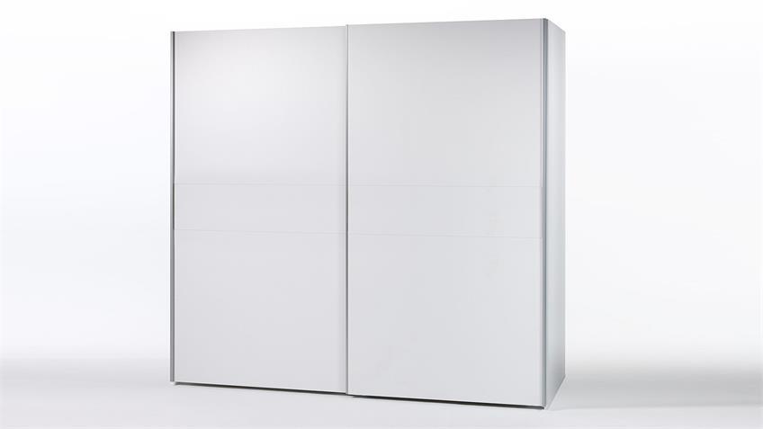 Schwebetürenschrank VICTOR 4 Schrank in weiß 215