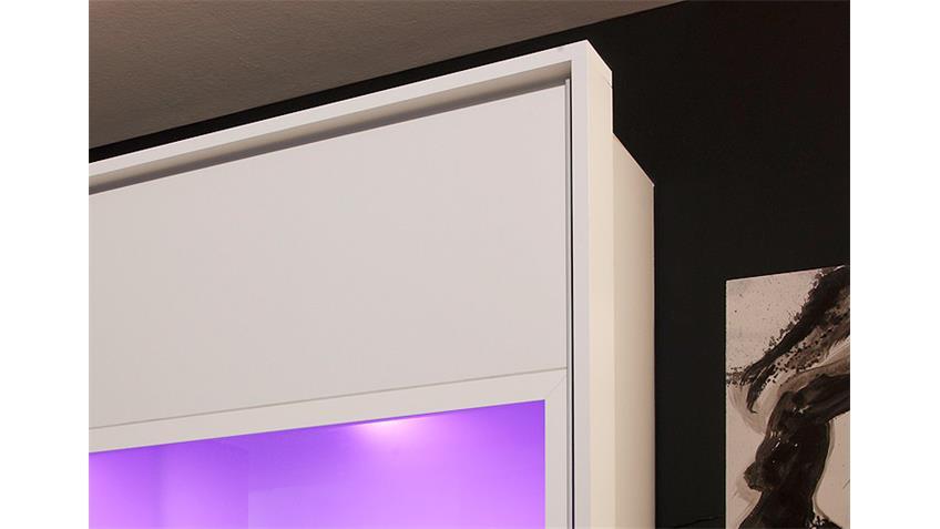 Passepartout QUATTRO in weiß für Schwebetürenschränke 270 cm