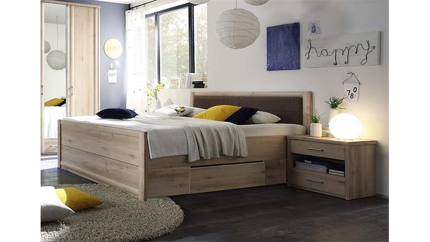 bettanlage classic buche bett 180x200 mit schubk sten 2. Black Bedroom Furniture Sets. Home Design Ideas