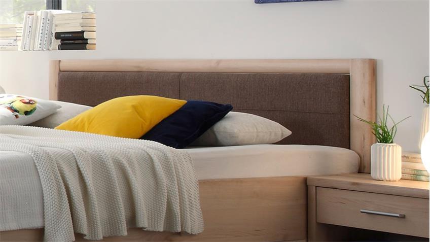 Bettanlage CLASSIC Buche Bett 180x200 mit Schubkästen 2 Nachtkommoden