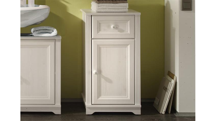 Badezimmer-Set JASMIN 5-tlg. Badezimmer Schränke Lärche weiß