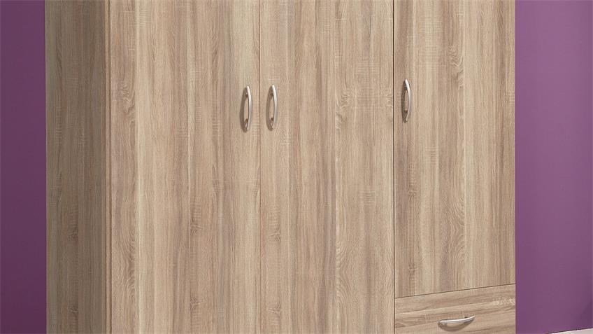 Kleiderschrank BASE 3 Sonoma Eiche Schlafzimmerschrank 120