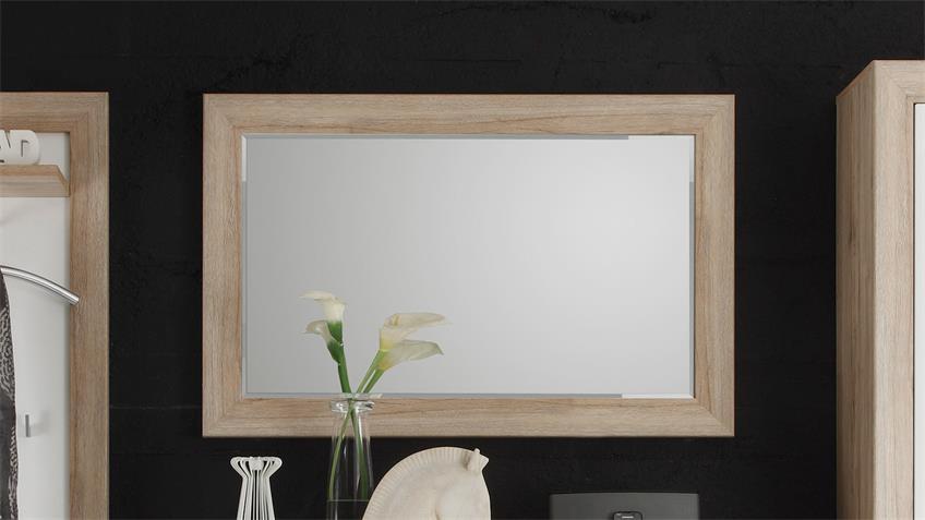Spiegel FERNANDO Wandspiegel in Sonoma Eiche 110x70 cm