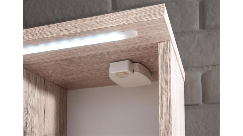 Spiegelschrank SPLASHI Sonoma  Eiche inkl. LED Beleuchtung