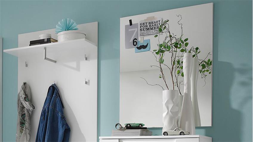 Garderobenspiegel SPICY Wandspiegel Garderobe Flur 70x90