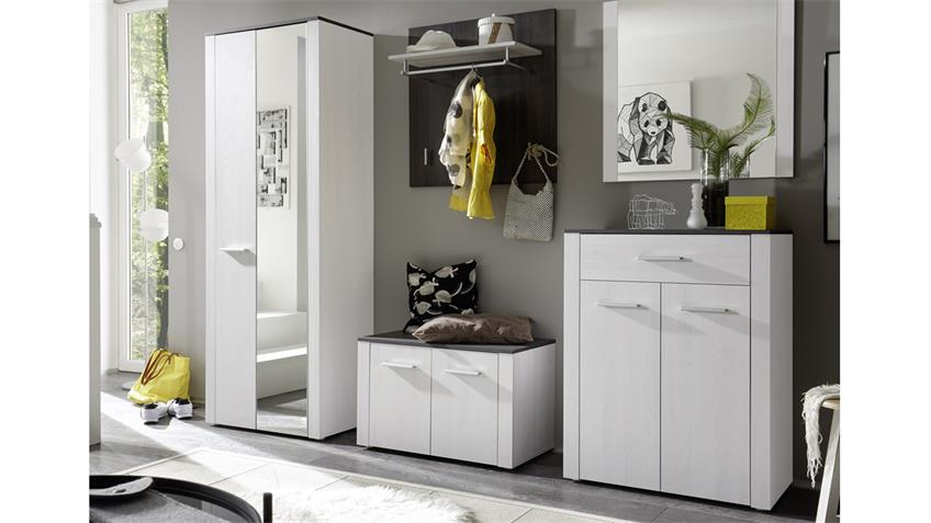garderobe dakar set in sibiu l rche und touchwood 5 teilig. Black Bedroom Furniture Sets. Home Design Ideas