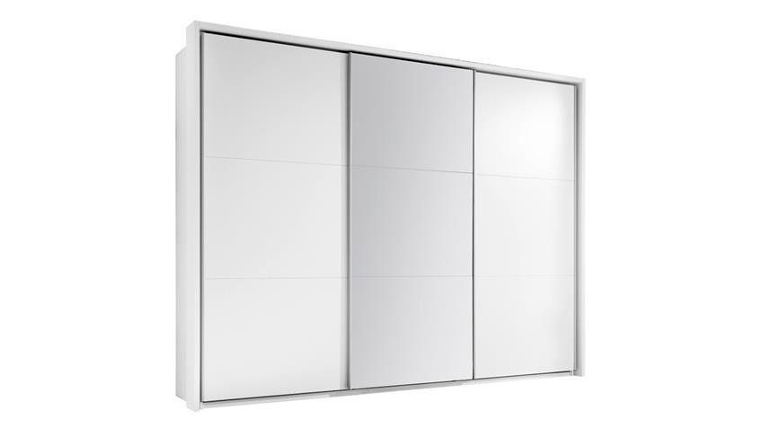 schwebet renschrank bravo kleiderschrank 3 trg wei spiegel 270 cm. Black Bedroom Furniture Sets. Home Design Ideas