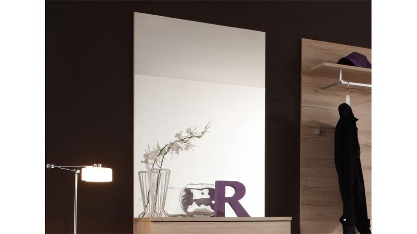 Wandspiegel Linate Garderobenspiegel rahmenlos 65x98 cm