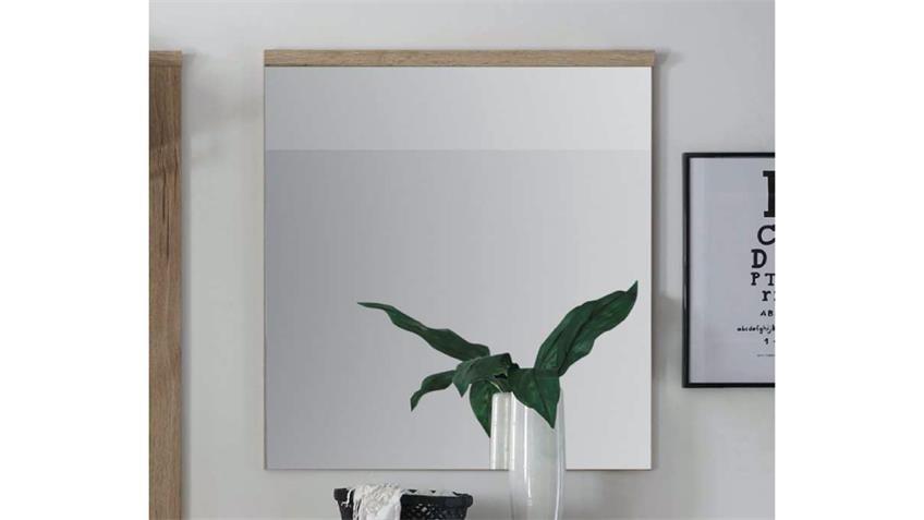 Wandspiegel Feeling Spiegel in Cleveland Eiche 76 x 92 cm